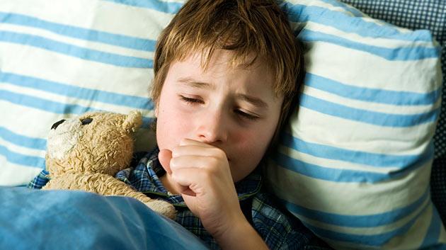 Как лечить сухой кашель у детей