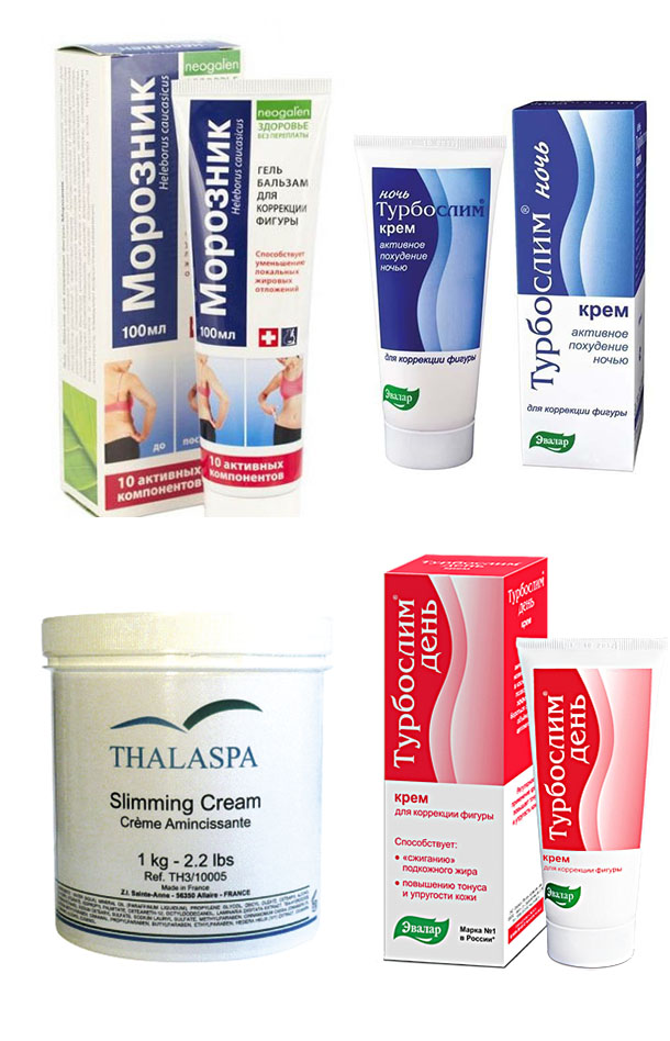 Мази для похудения в аптеках