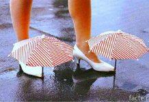 Зонтики для туфлей