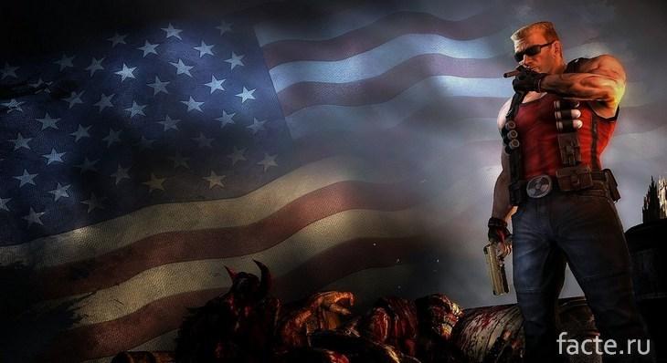 Дюк-американец